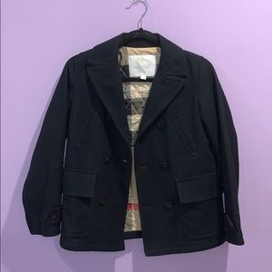 NWOT Burberry wool peacoat